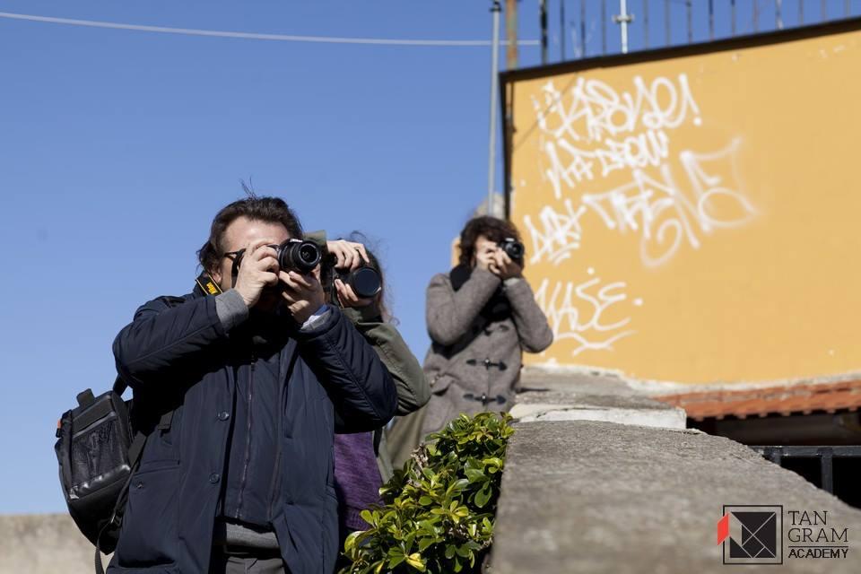 Esercitazione fotografica in esterno