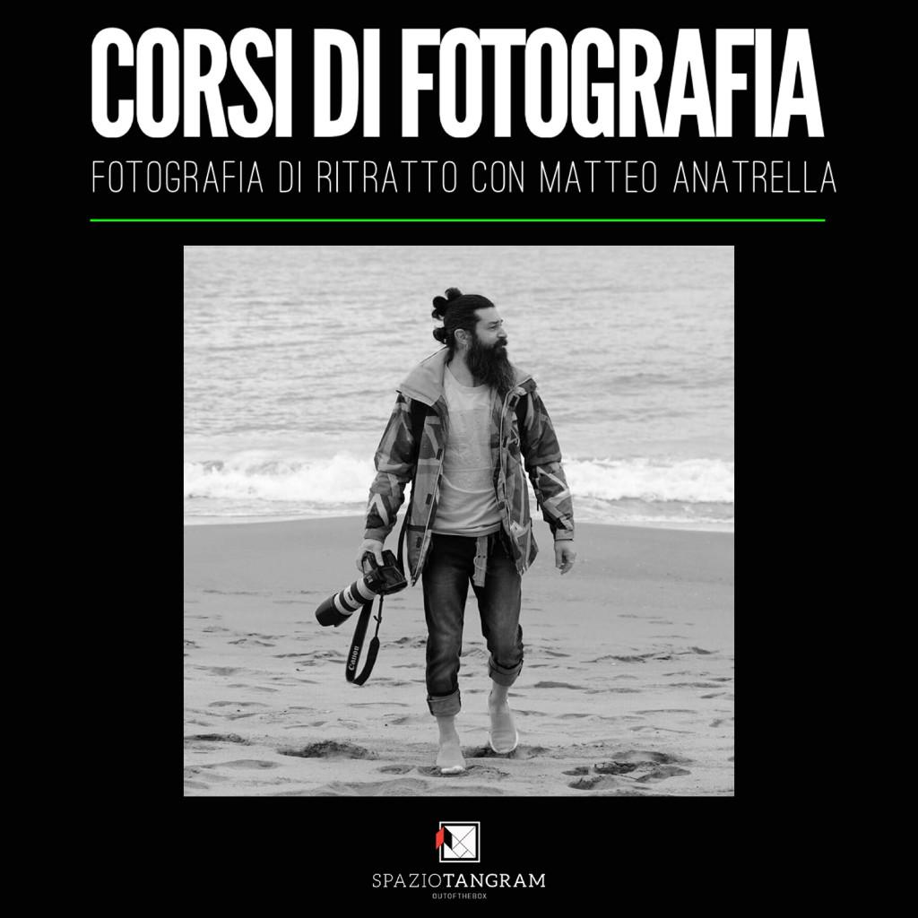 il fotografo Matteo Anatrella | uno dei docenti di Spazio Tangram