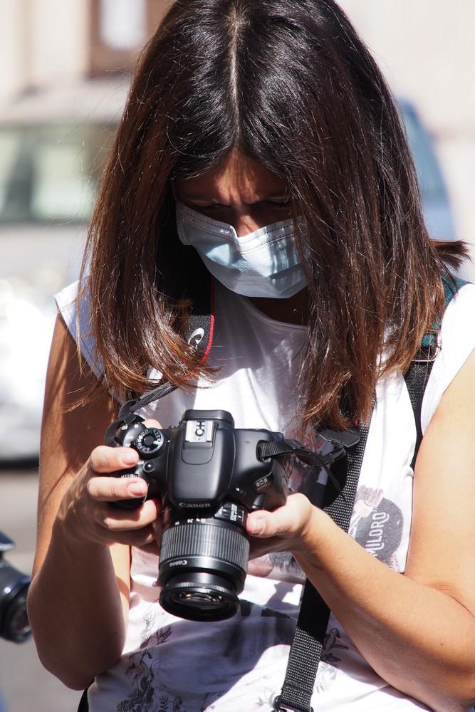 Corso Base di Fotografia a Napoli | esercitazione pratica in esterno