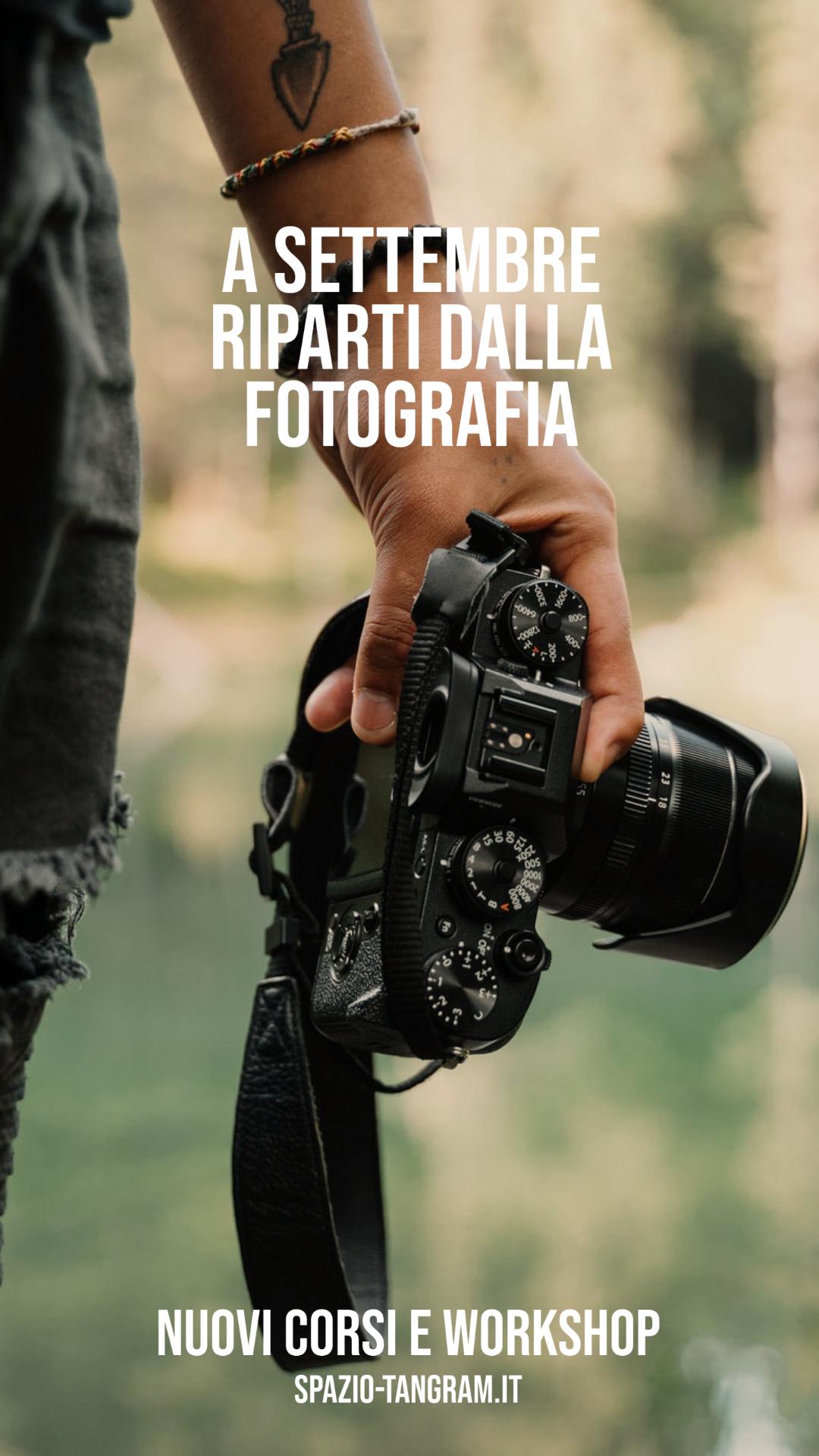 Scopri i nuovi corsi e workshop di fotografia di Spazio Tangram Napoli
