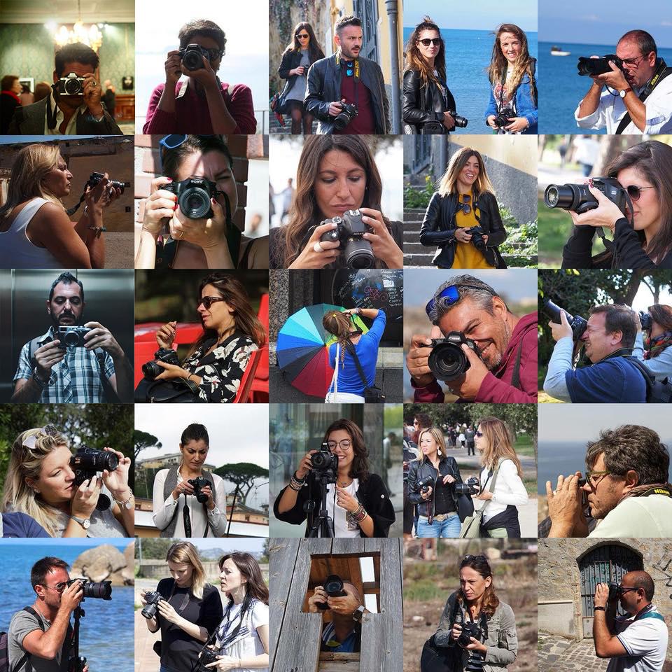 allievi dei corsi di fotografia a Napoli | Spazio Tangram