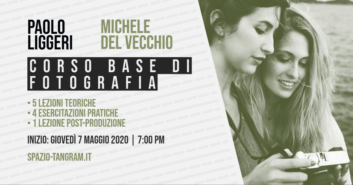 corso base di fotografia a Napoli - inizio 7 maggio 2020