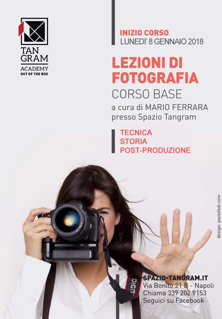 Corso Lezioni di fotografia con Mario Ferrara