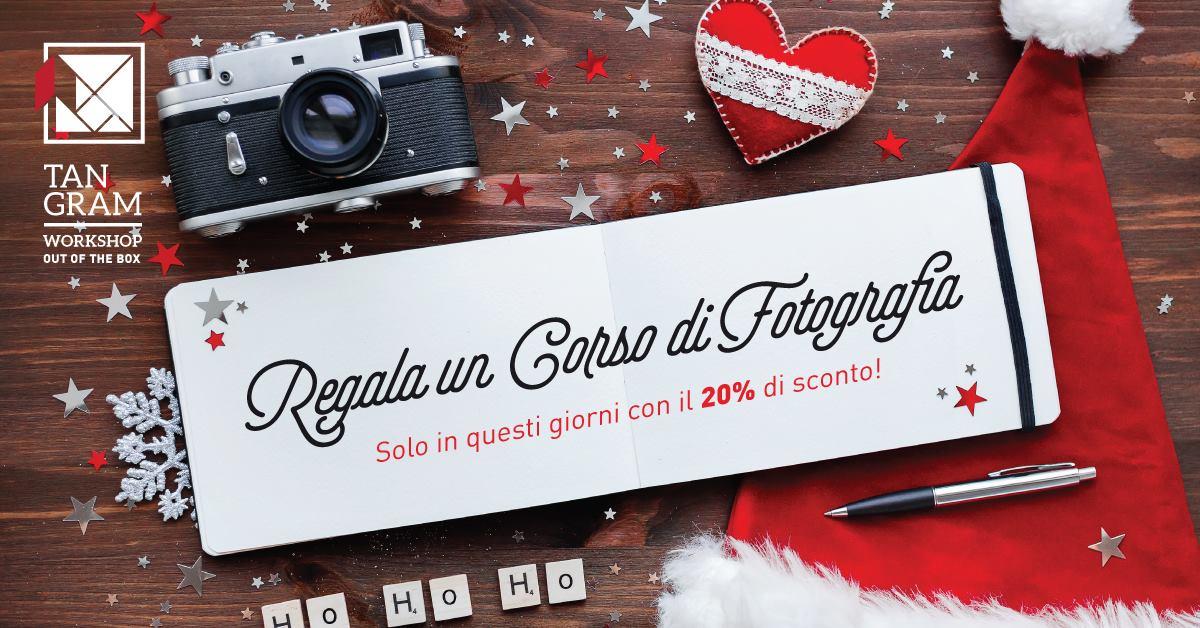 a Natale regala un corso di fotografia di Spazio Tangram