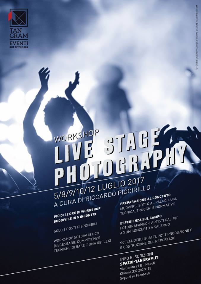 workshop live stage photography