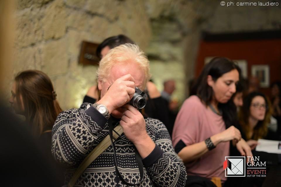 il fotografo Mario Laporta, ospite di una delle nostre serate