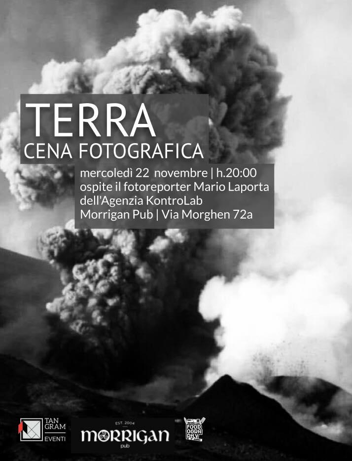 "Cena fotografica ""Terra"""
