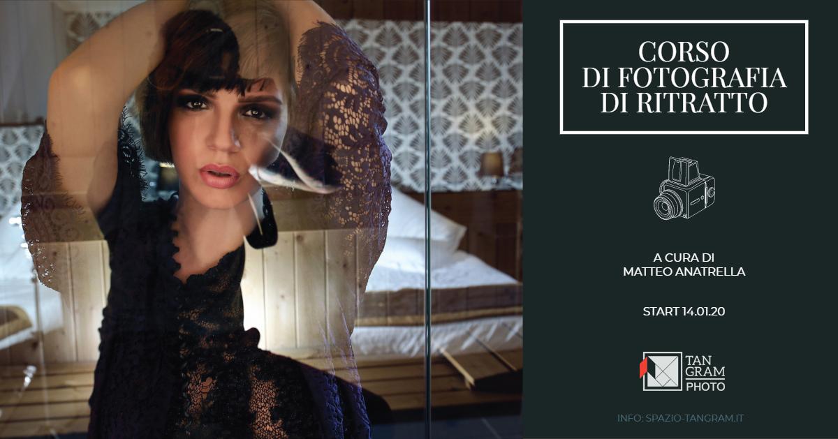 Corso di fotografia di ritratto con Matteo Anatrella