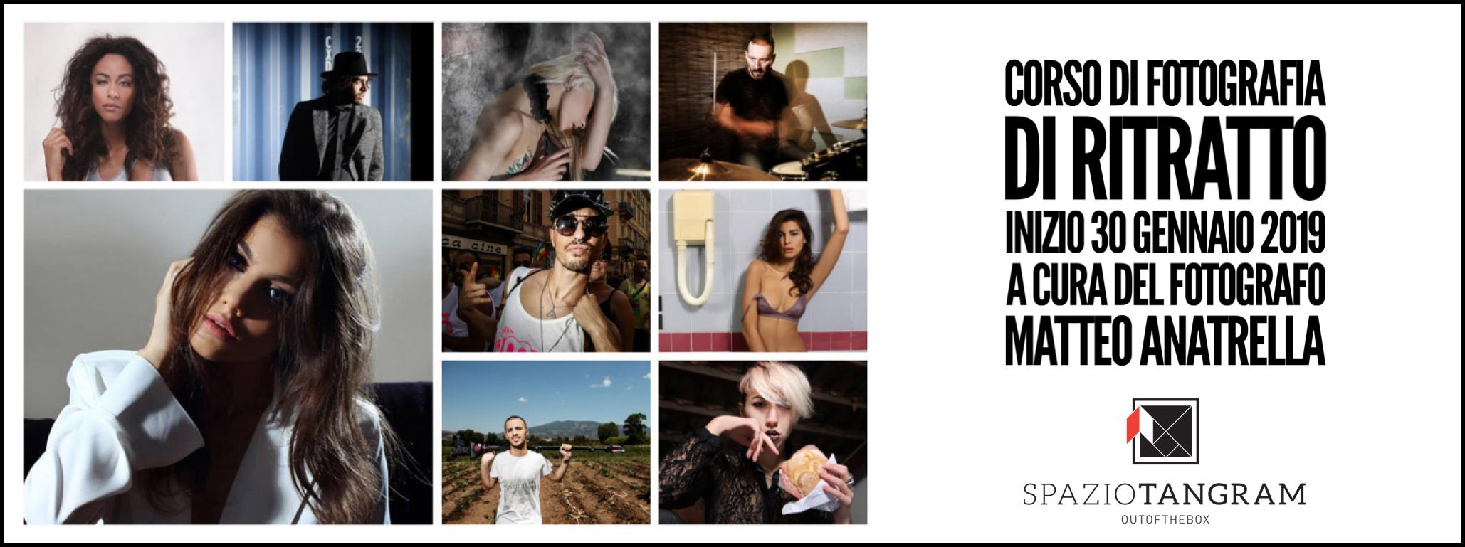 Corso di fotografia di ritratto   a cura di Matteo Anatrella   edizione n°4