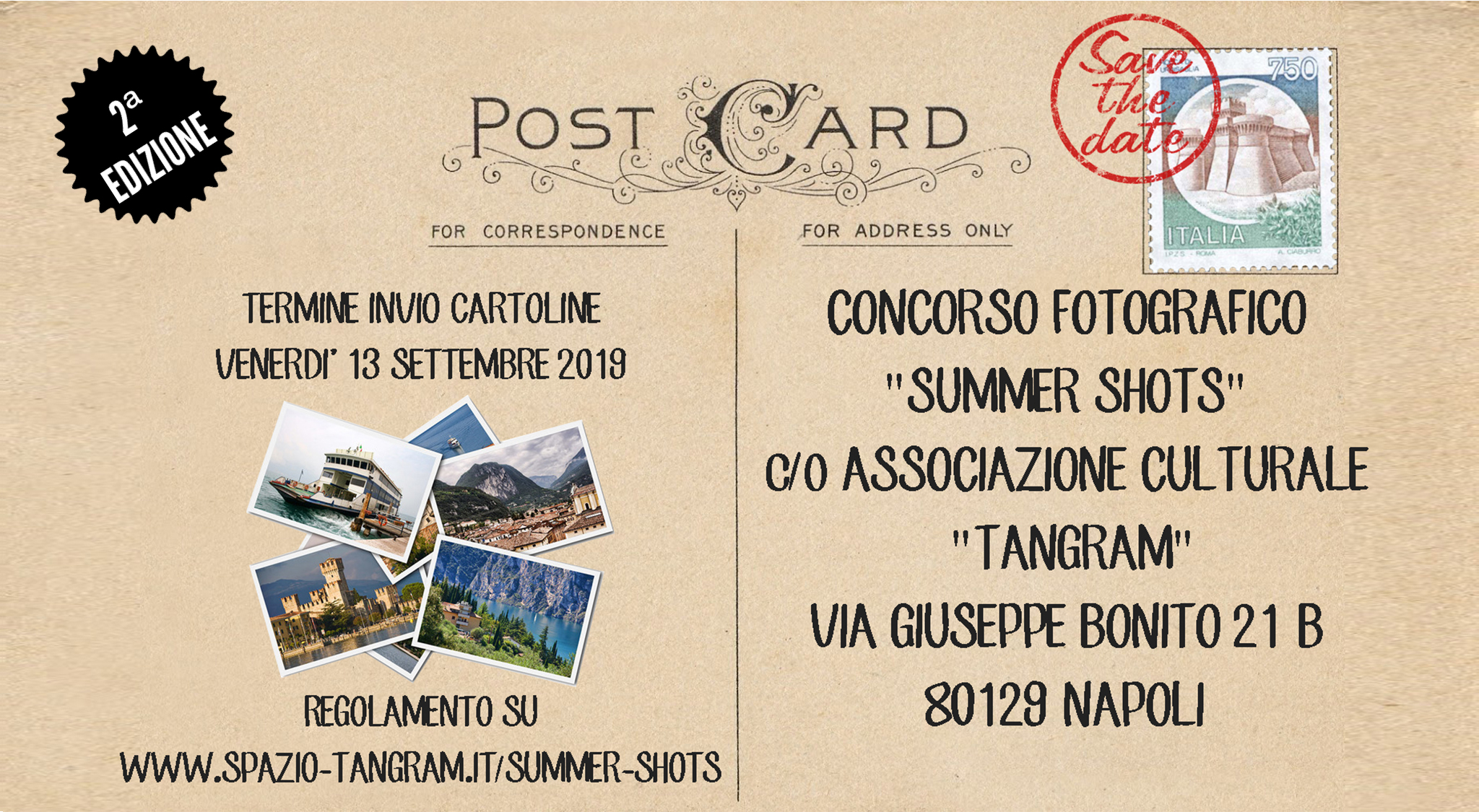 Concorso Fotografico Summer Shots - mandaci una cartolina