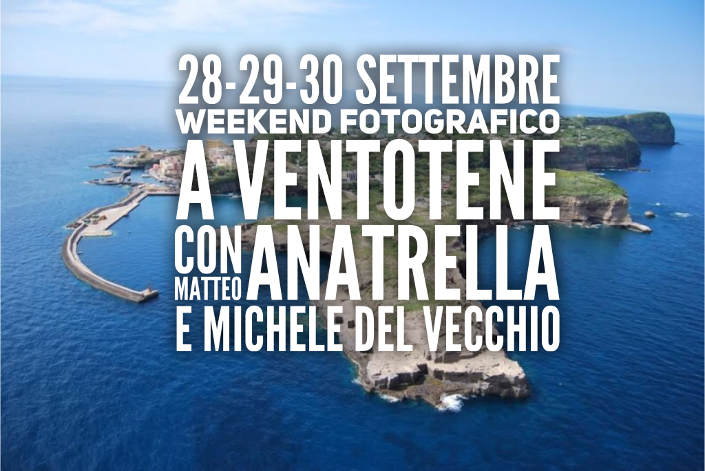 Weekend fotografico a Ventotene