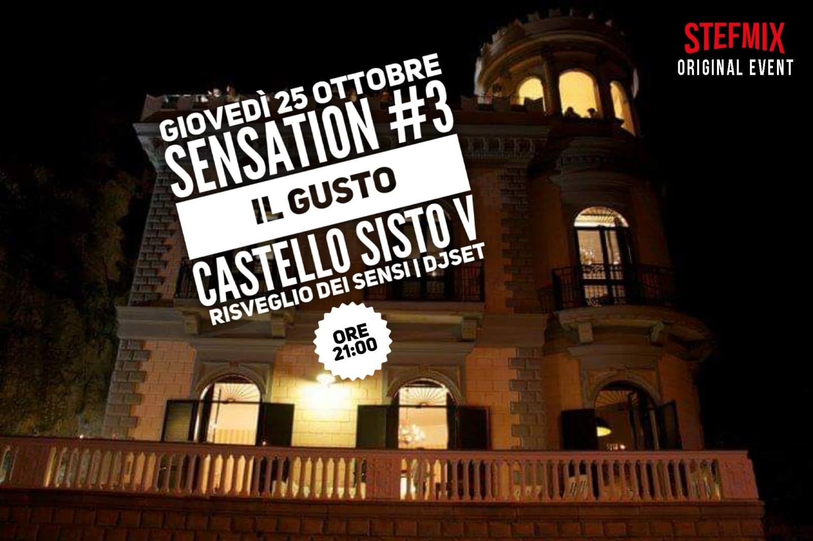 Sensation Party #3: il Gusto