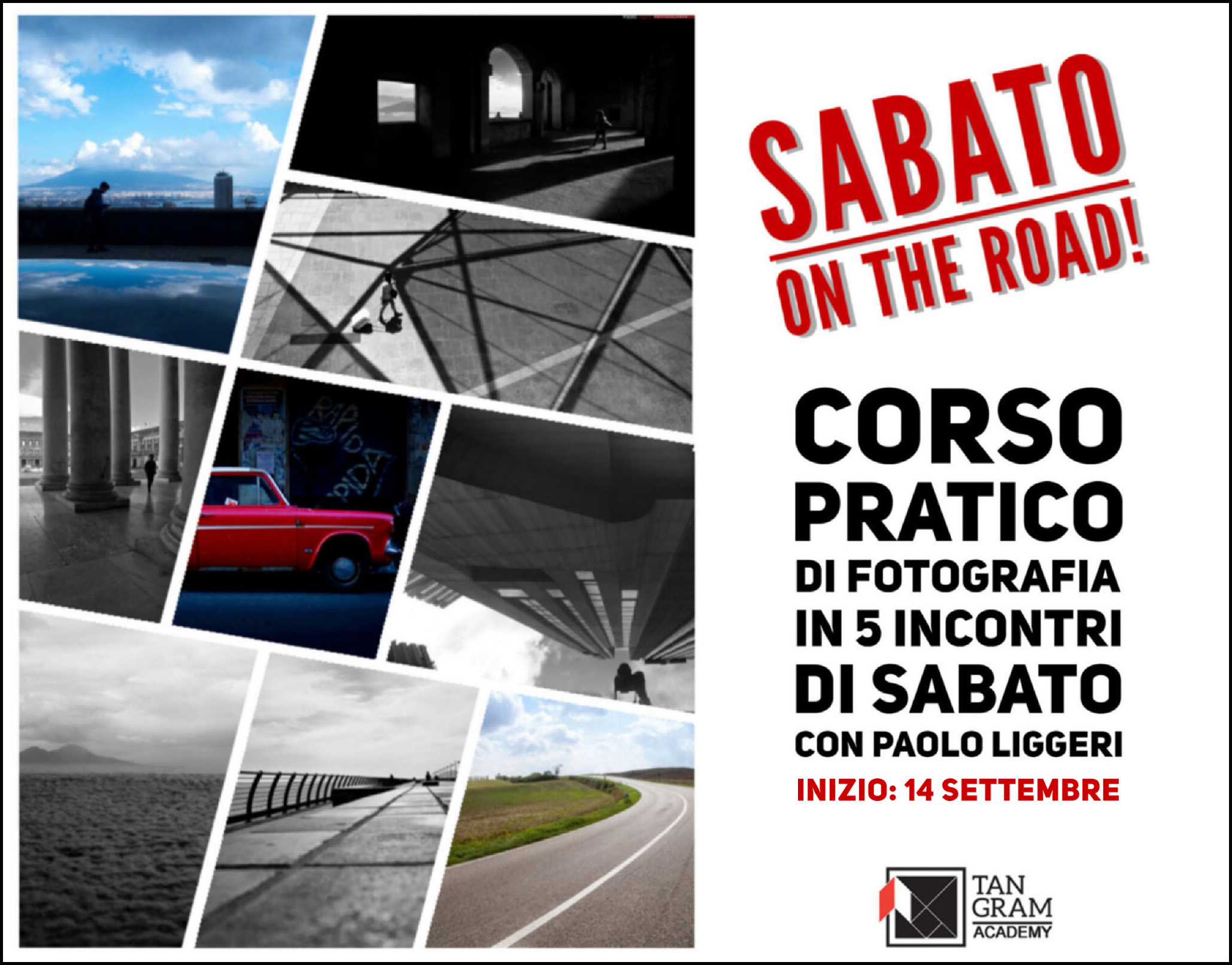 "corso di fotografia ""Sabato on the Road"""