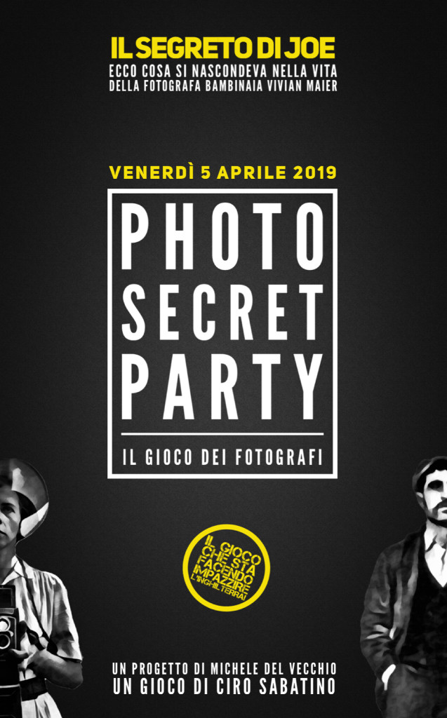 Photo Secret Party #1: Il segreto di Joe
