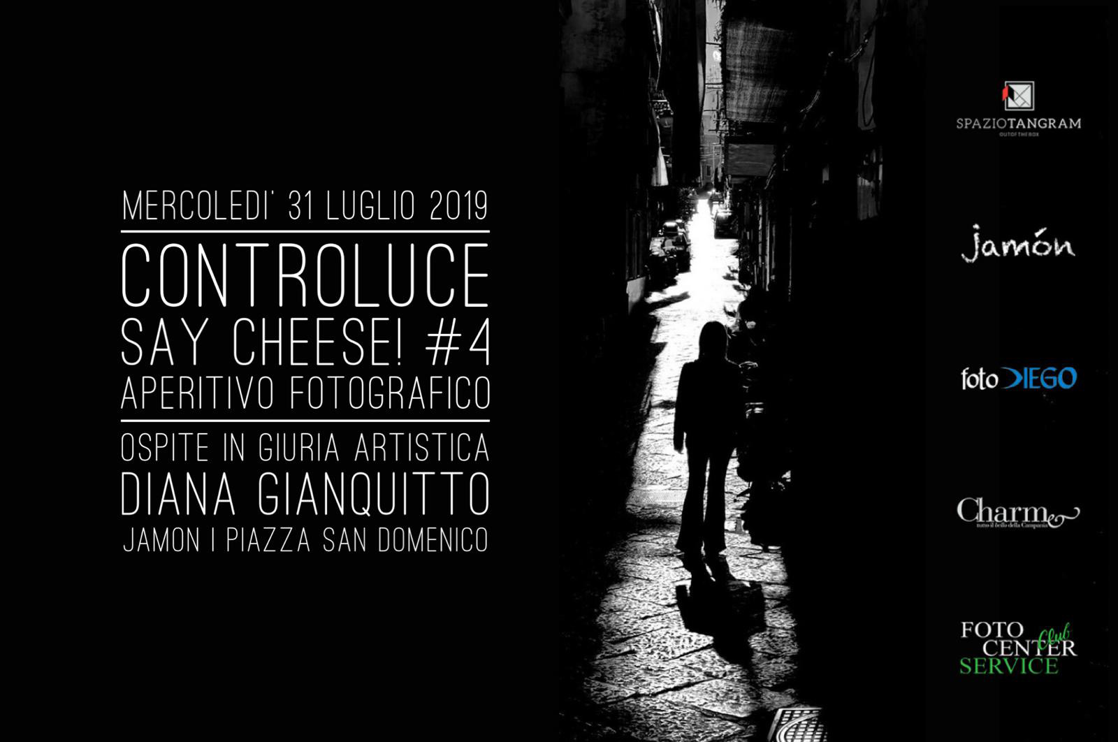 Say Cheese! #4 | aperitivo fotografico | Controluce