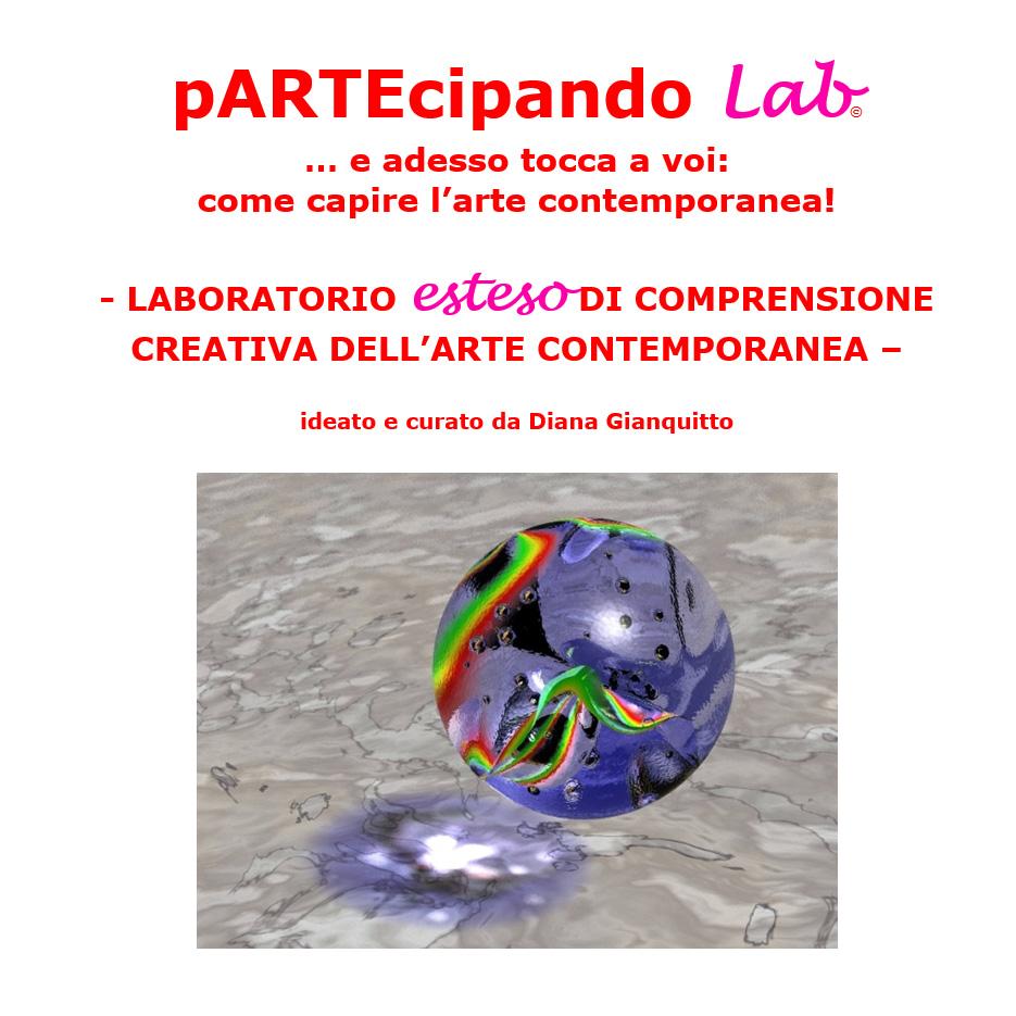 pARTEcipando lab | laboratorio esteso di comprensione creativa dell'arte contemporanea
