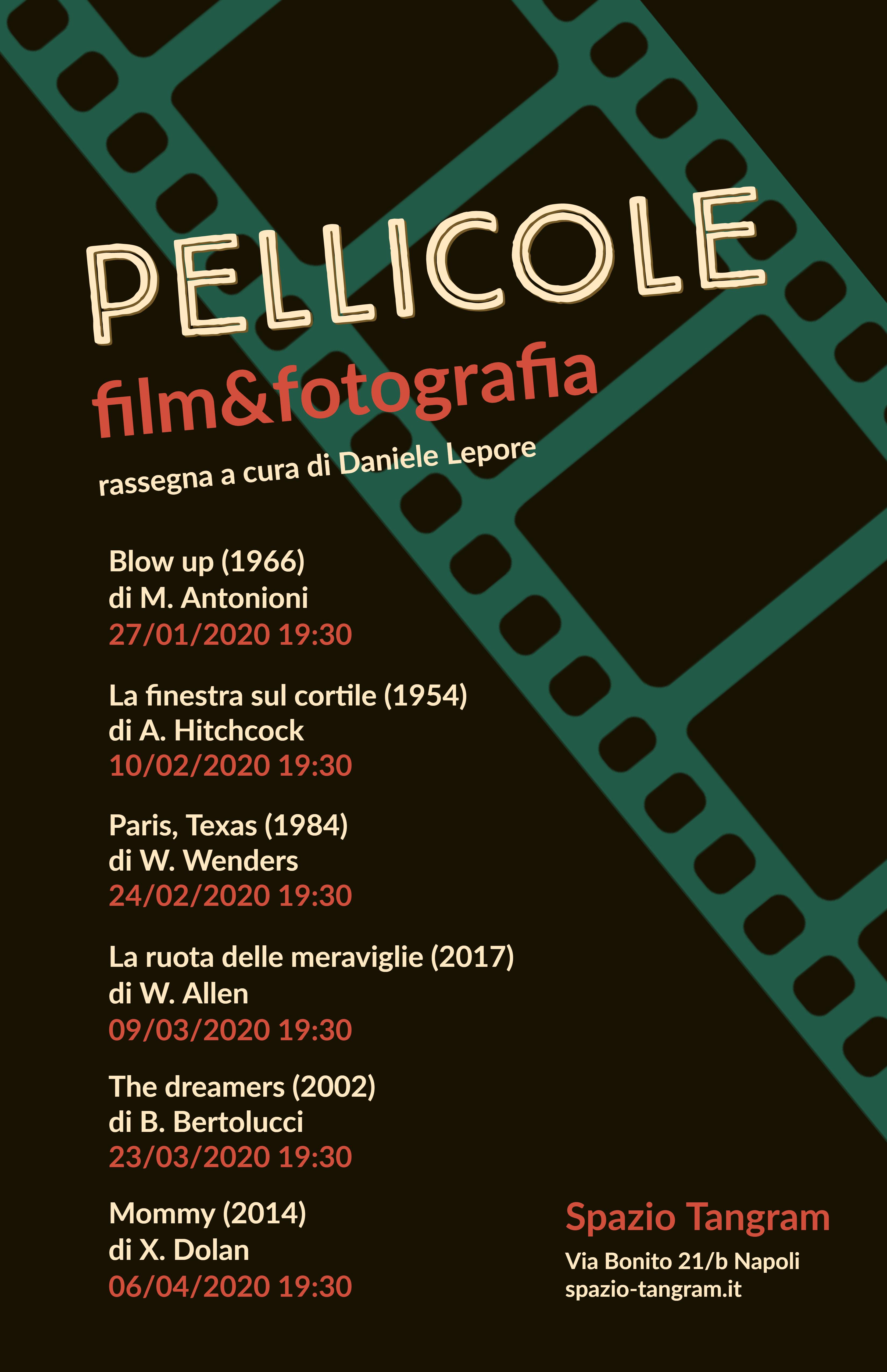 Rassegna cinematogrica Pellicole Film&Fotografia