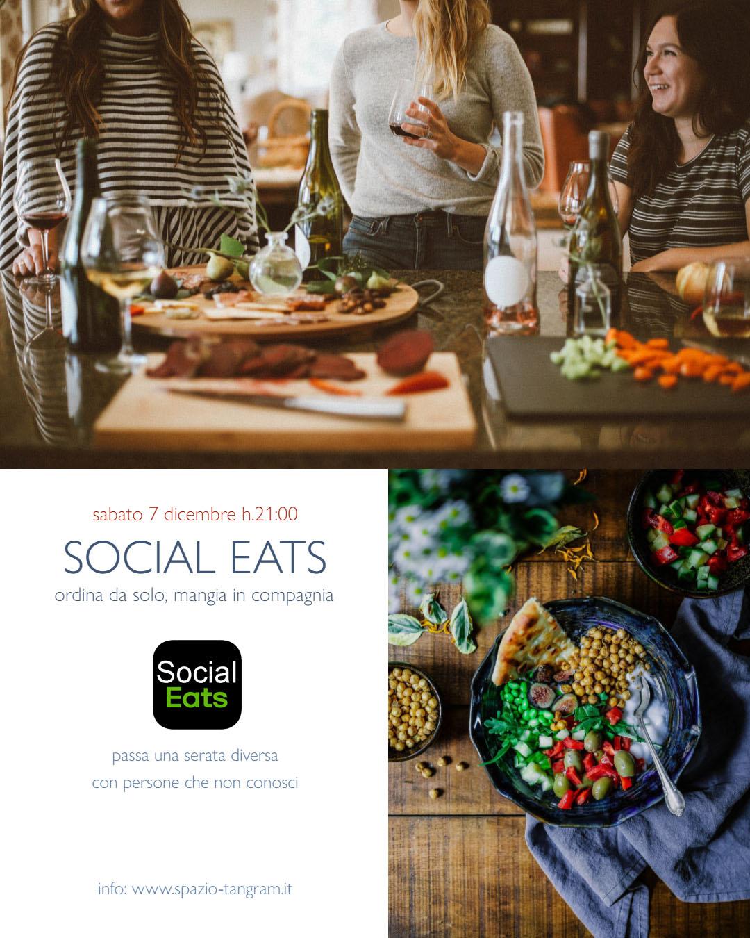 Social Eats: ordina da solo, mangia in compagnia