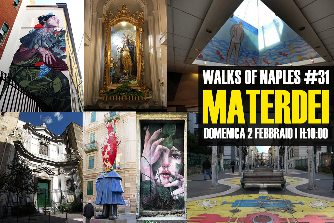 "sabato 1 febbraio 2020 | Walks of Naples #30: ""Forcella"""