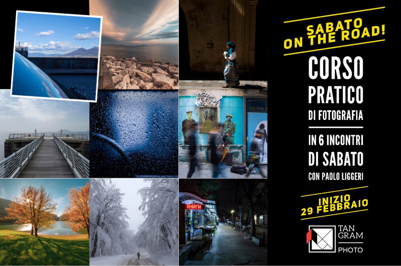 Sabato on the road - corso intermedio di fotografia