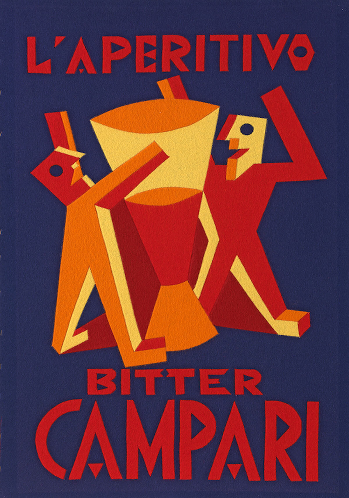 grafica-pubblicitaria-futurista-fortunato-depero-campari-rosso