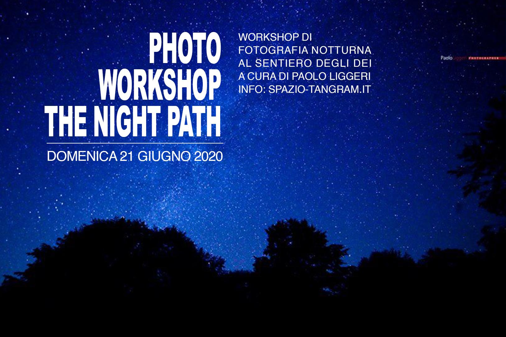 workshop di fotografia notturna