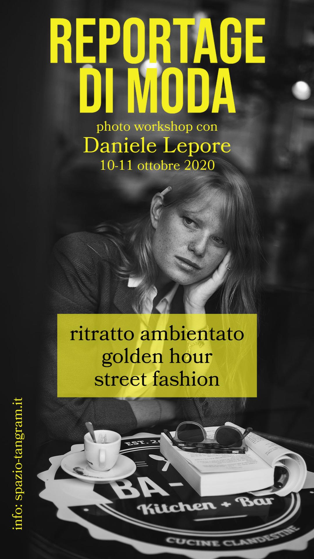 photo workshop Reportage di Moda con Daniele Lepore