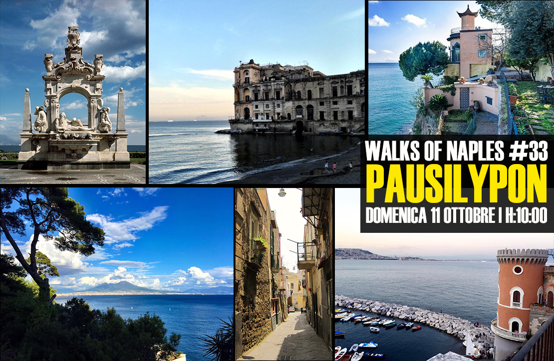 Walks of Naples #33 - Pausilypon - domenica 11 ottobre