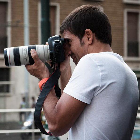 Michele Del Vecchio | docente del corso base di fotografia