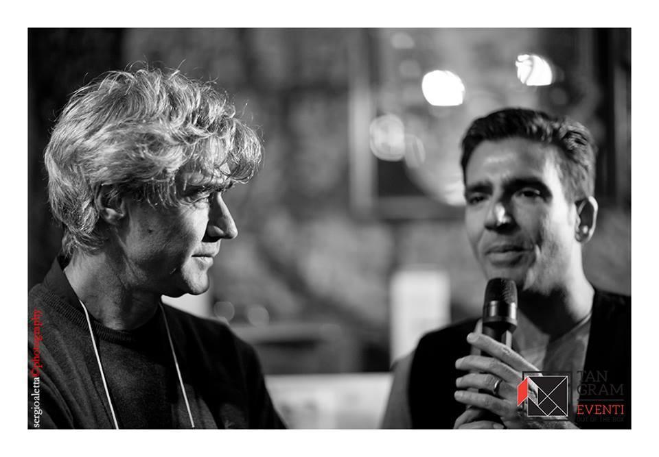 Antonio Biasiucci con Michele Del Vecchio