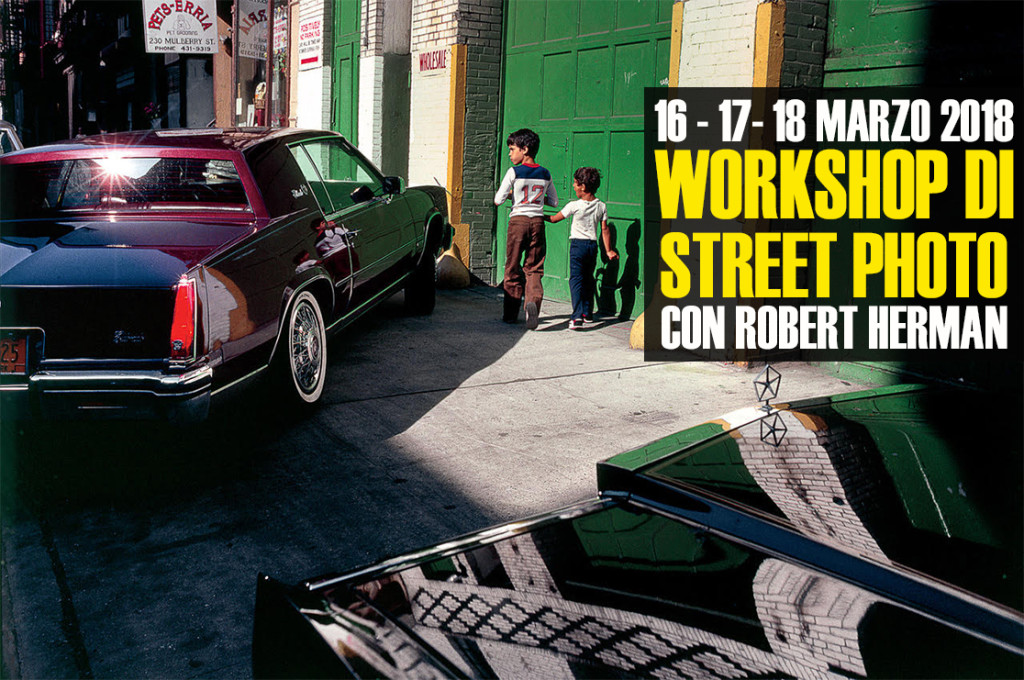 workshop di street photography con Robert Herman