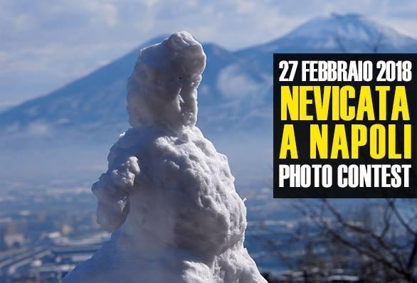 Nevicata a Napoli