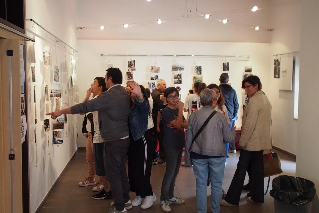 La mostra finale con le foto dei giovani allievi