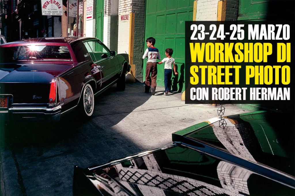 Workshop di street photography con Robert Herman
