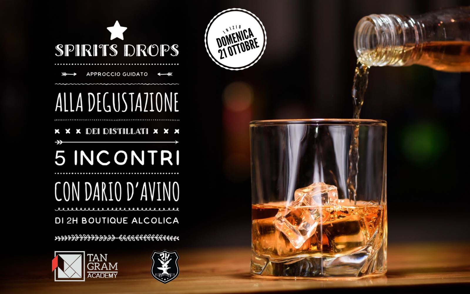 Spirits' Drops - approccio guidato alla degustazione di distillati