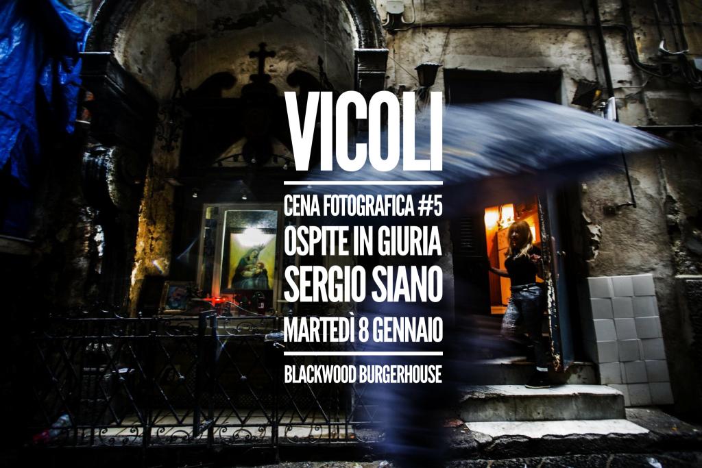 "Foodography   cena fotografica #5: tema ""VICOLI"""