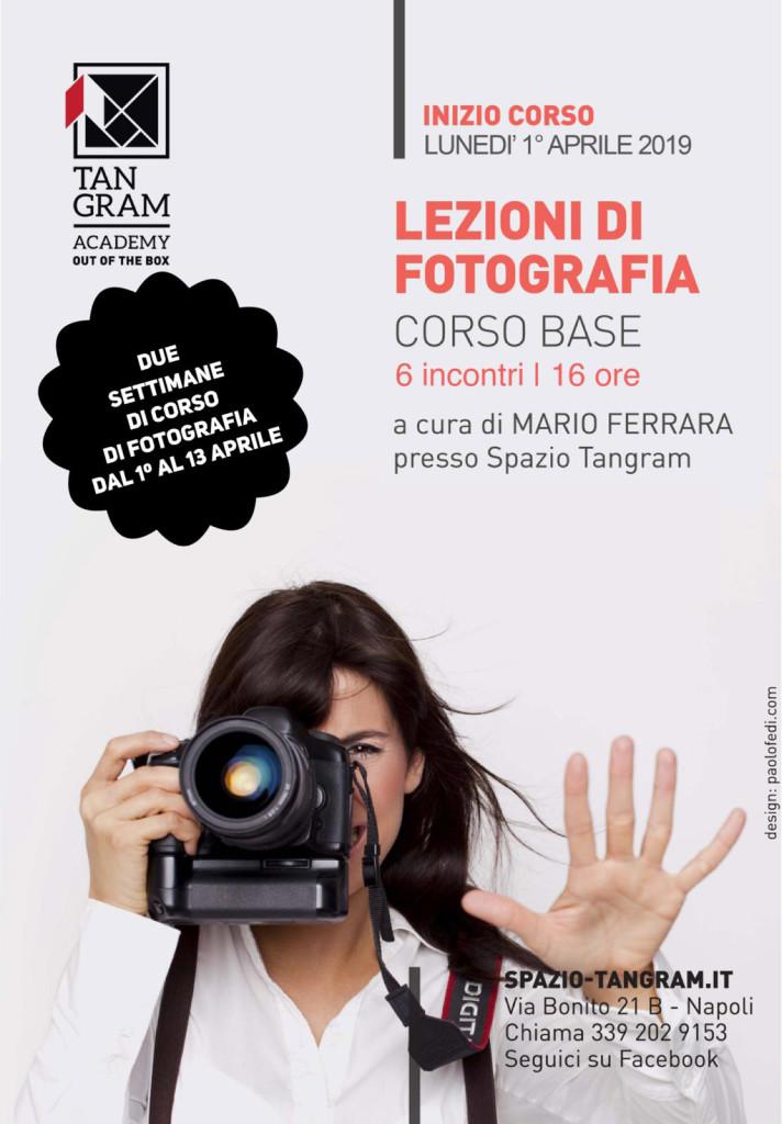Lezioni di fotografia - corso intensivo in due settimane - a cura di Mario Ferrara