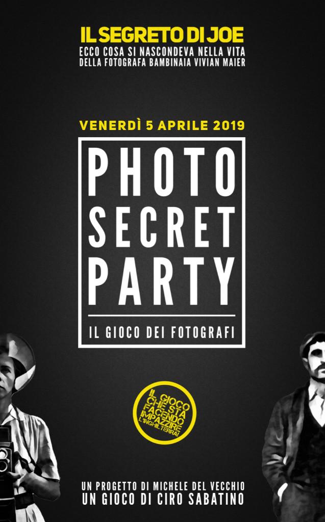 Photo Secret Party #1: Il segreto di Joe