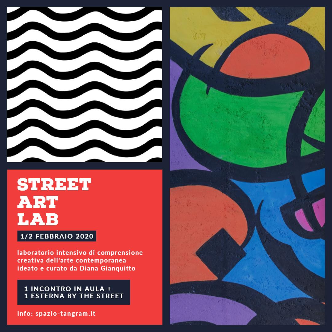pARTEcipando | Street Art Lab | laboratorio esteso di comprensione creativa dell'arte contemporanea