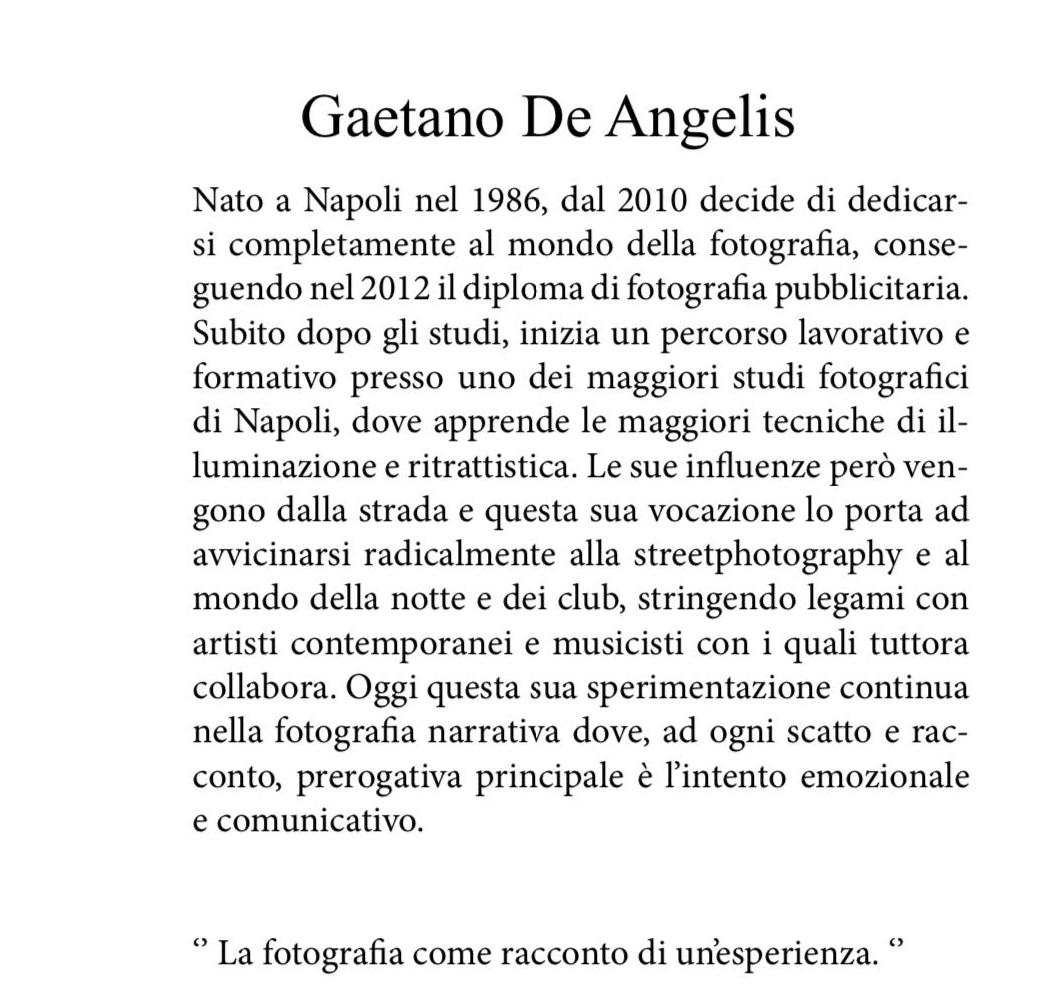 bio Gaetano De Angelis