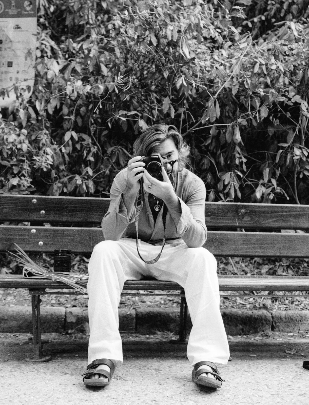 """il fotografo Daniele Lepore   docente del workshop """"Reportage di Moda"""""""