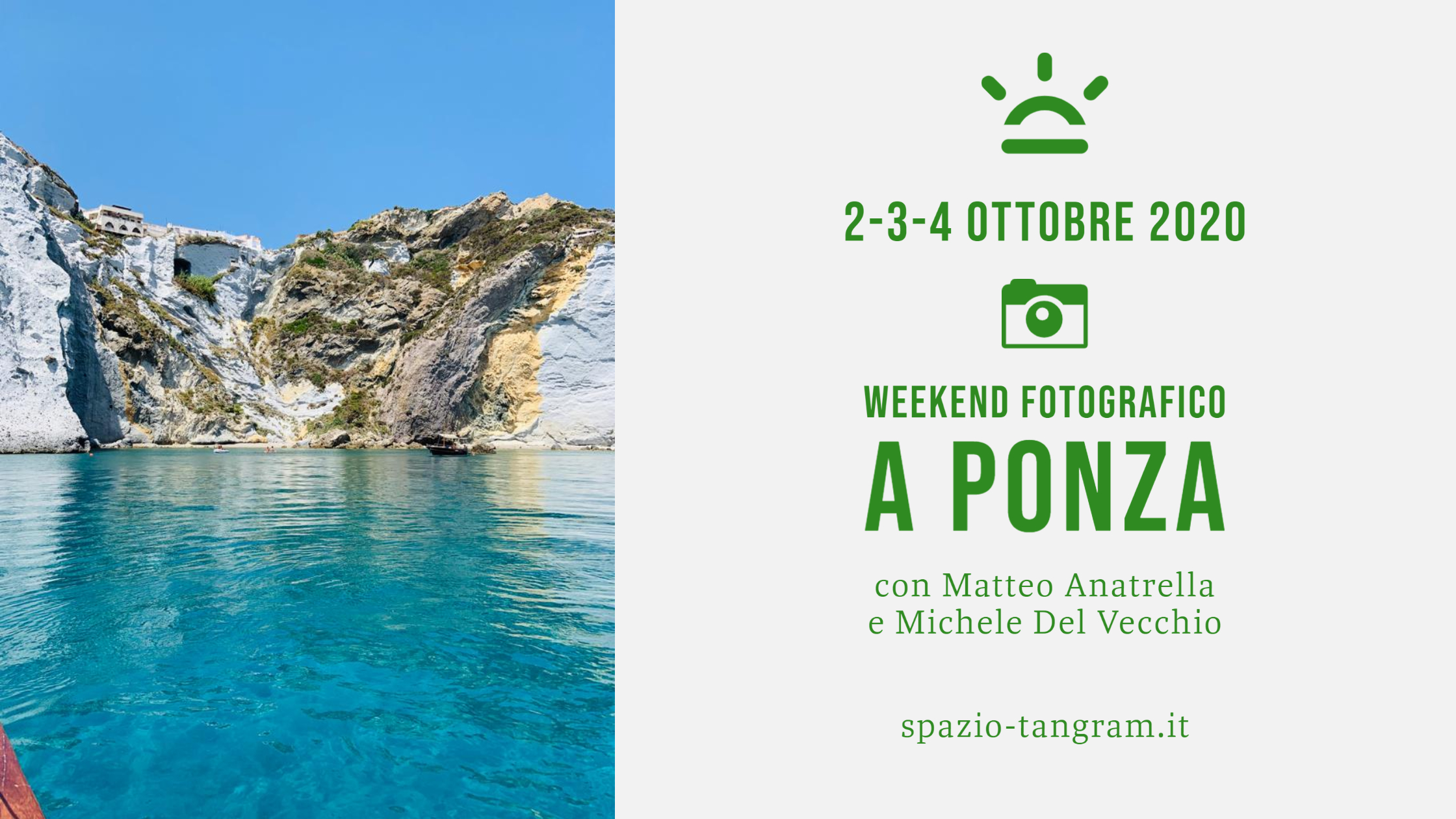 Weekend fotografico a Ponza