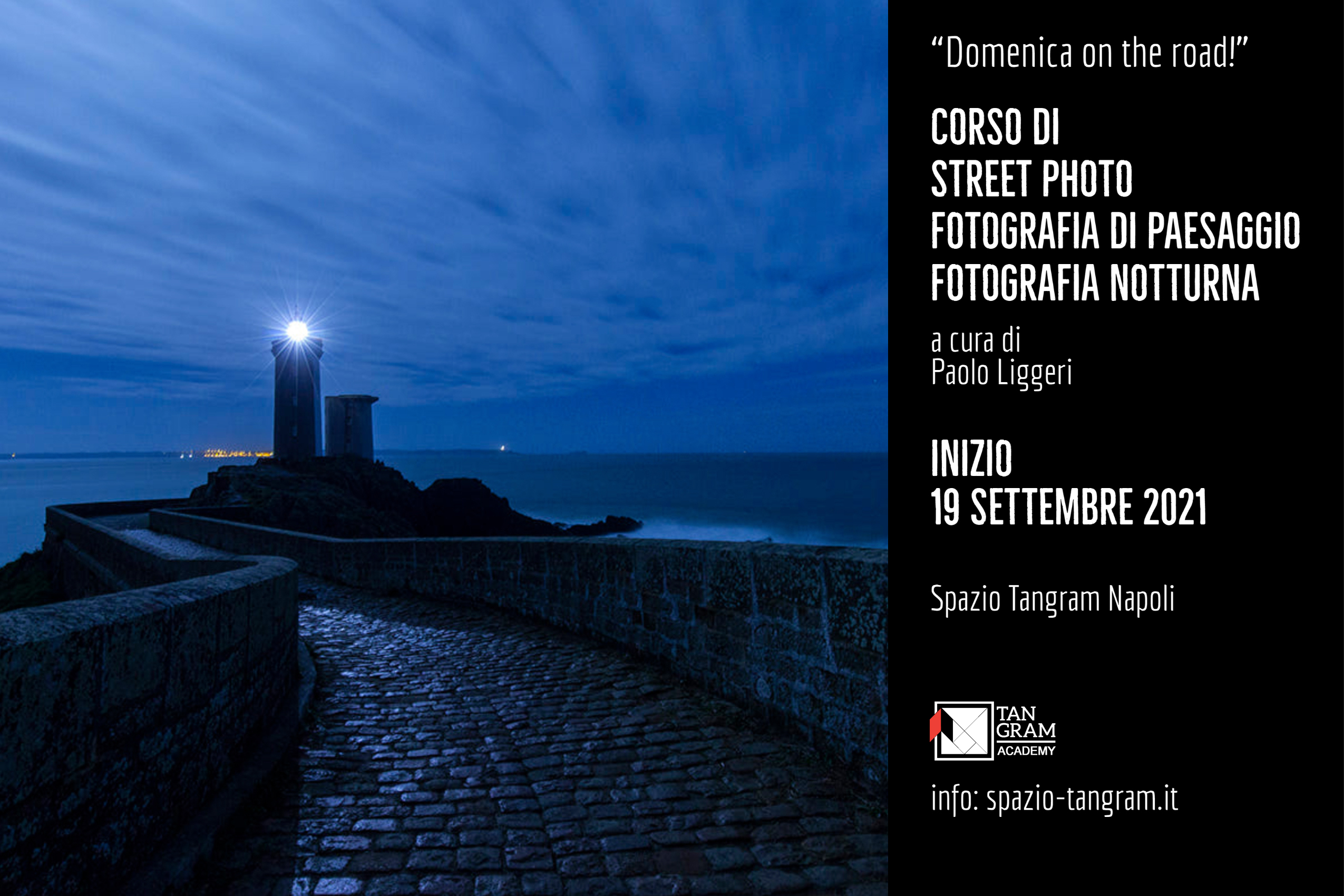 corso base di fotografia a Napoli