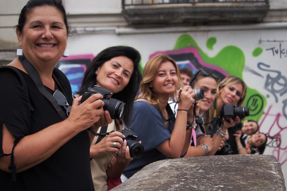 Esercitazioni del Corso Base di Fotografia - Spazio Tangram Napoli